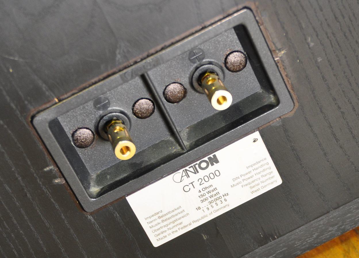 Фото 6 - Hi-End акустика CANTON CT-2000