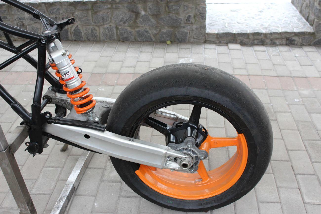 Подвеска мотоцикла своими руками 85
