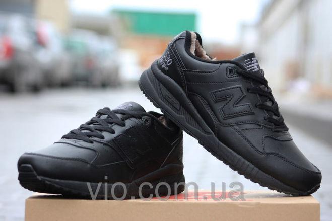 955c4957 Кроссовки new balance зимние мужские 530 encap чёрные: Договорная ...