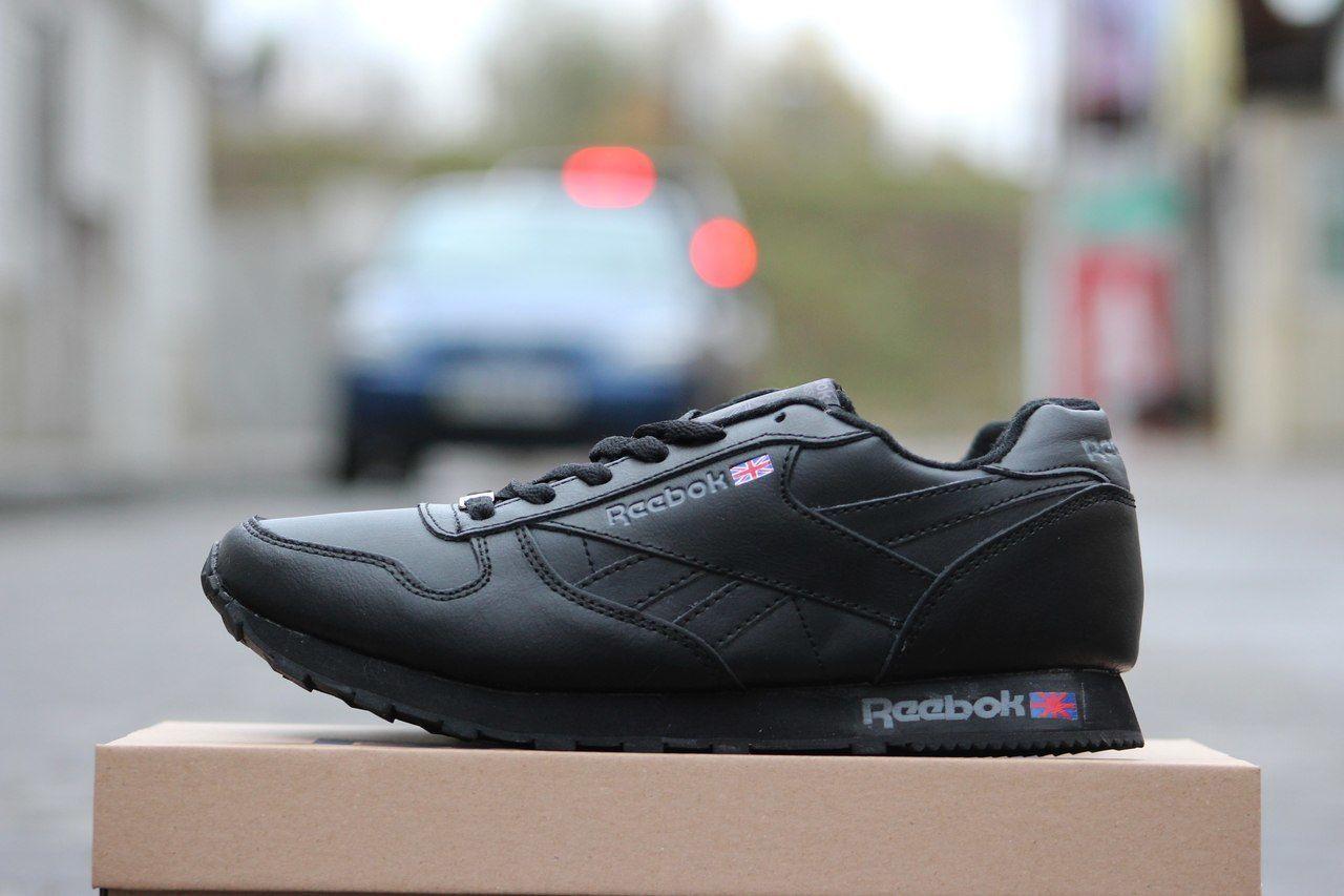 Кожаные мужские кроссовки England Reebok зимние черные  900 грн ... 0b58ede1514f1