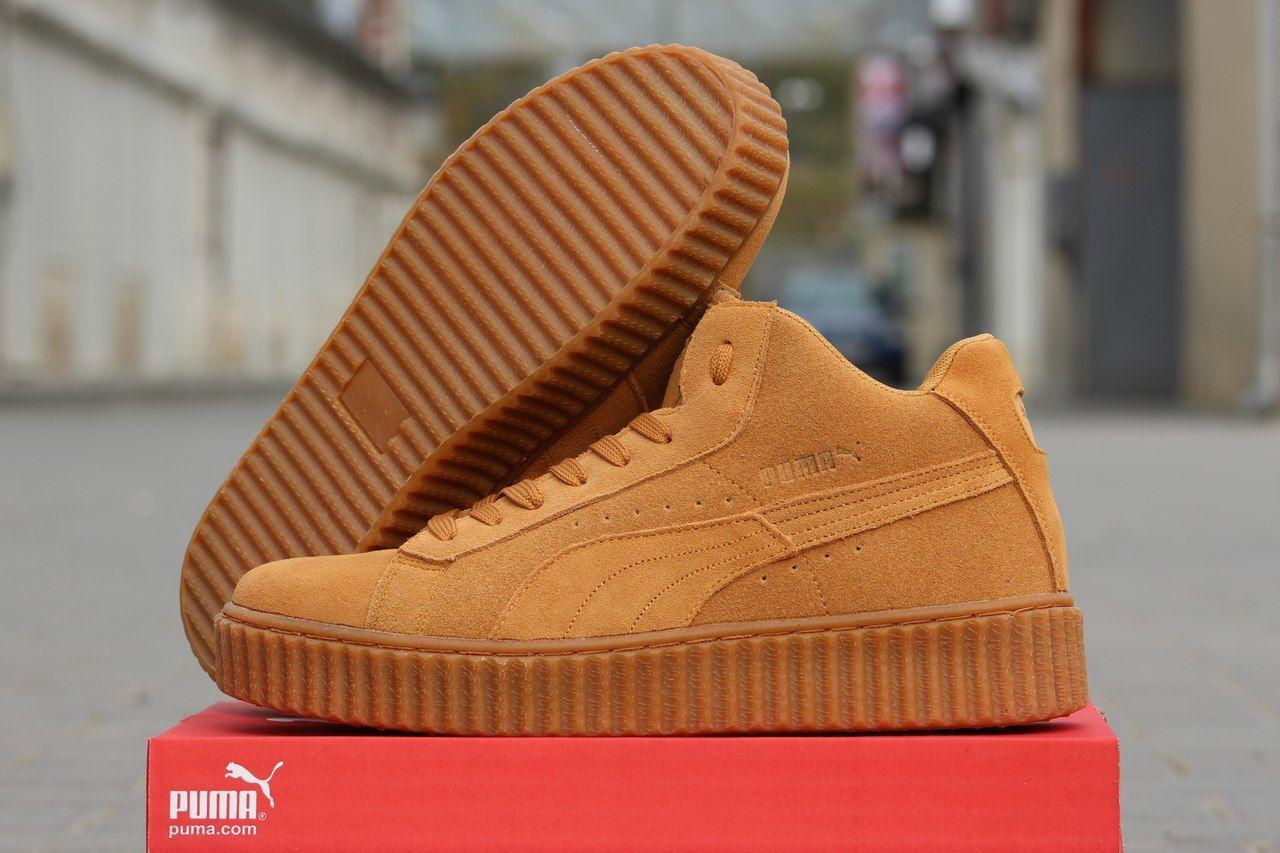 Высокие замшевые кроссовки Puma by Rihanna зимние  804 грн. - Спортивная  обувь Киев - объявления на Бесплатка 11667083 Архив ea0da27f670
