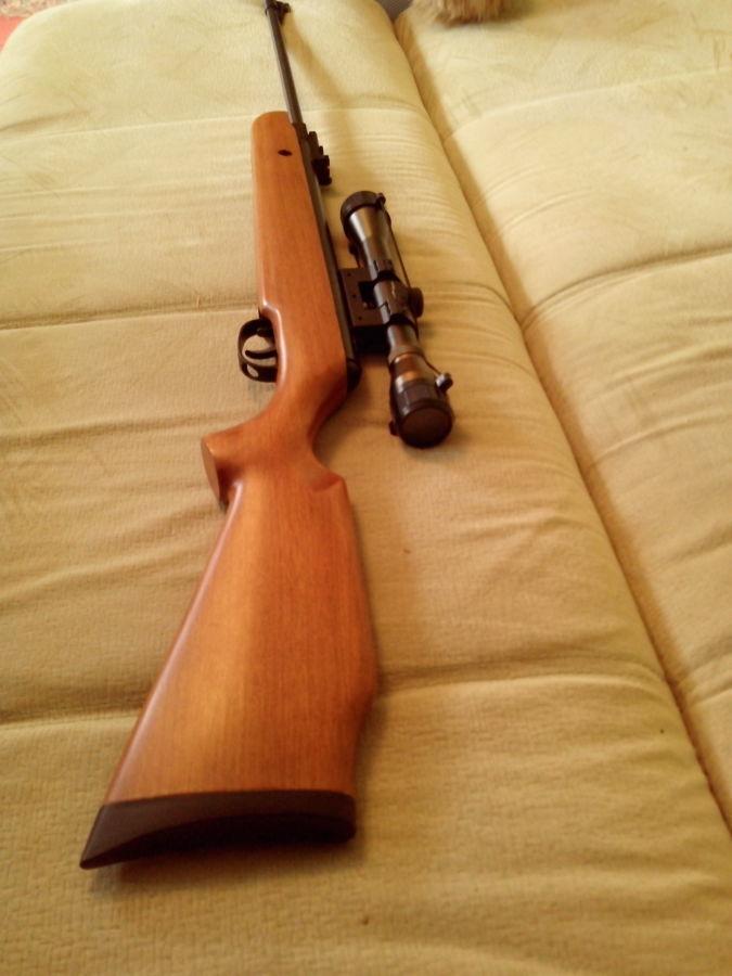 Фото 2 - пневматич. винтовка от Американской корпорации,класс магнум 305м/с