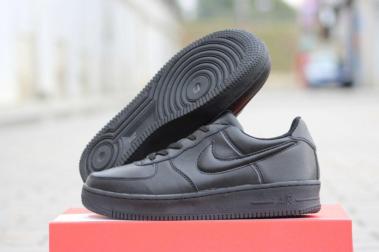 Мужские зимние кроссовки Nike Air Force черные  684 грн ... 59065a15fc9