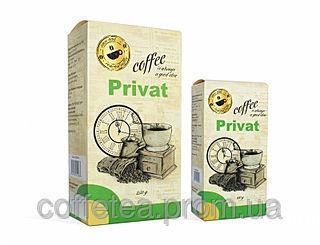 Фото - Privat Coffee в зёрнах / 80% Арабики / 20% Робусты / 250 г.