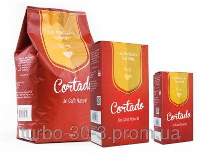 Фото - Кофе Cоrtado в зёрнах / 50% Арабики / 50% Робусты 250 г