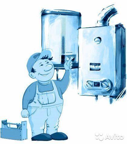 Фото - Ремонт(установка,замена)газовых печек,колонок,напольных котлов.