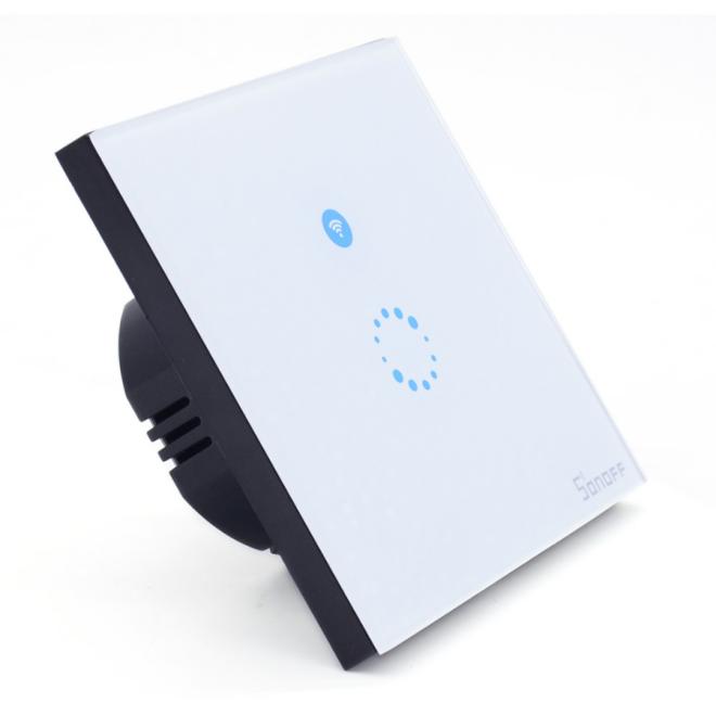 Фото 3 - Умный сенсорный WiFi выключатель Sonoff MQTT. Умный дом, smart home.