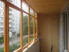 Фото - Ремонт деревянных балконов, оконных рам