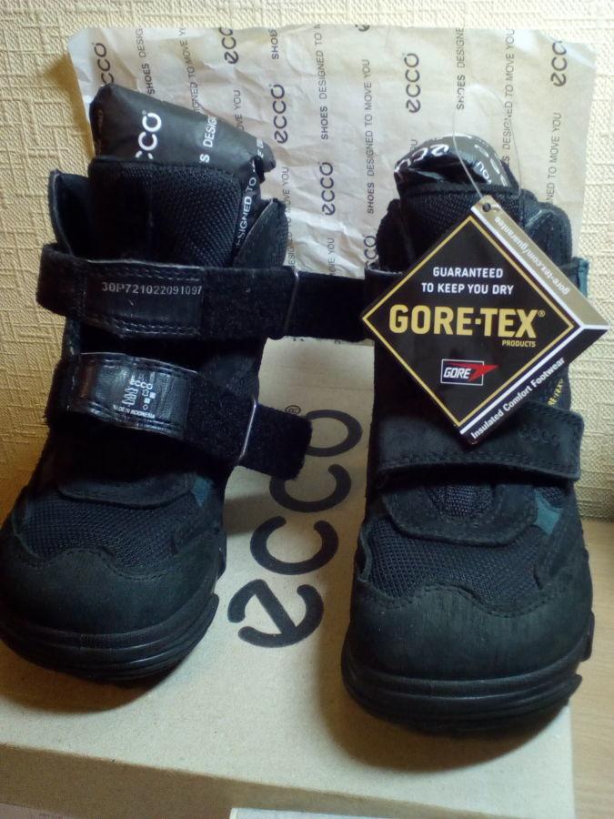 Детские зимние ботинки на мальчика ECCO SNOWBOARDER GORE-TEX 30 размер 15948265b61