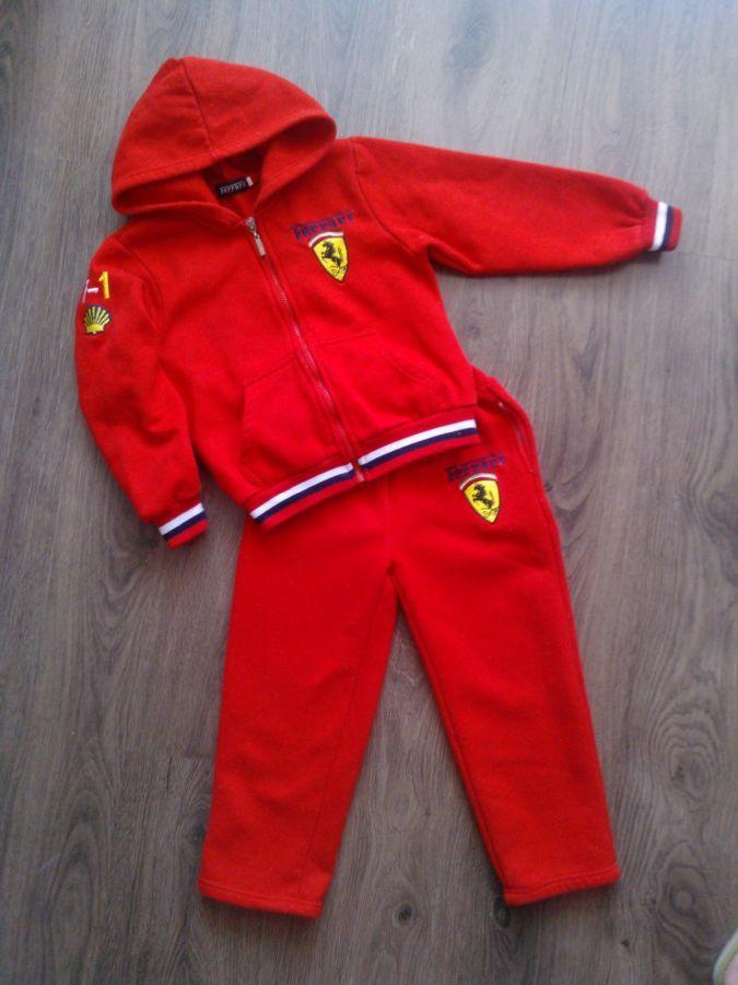 393a1bca Детский спортивный костюм Ferrari: 290 грн. - Другое Киев ...