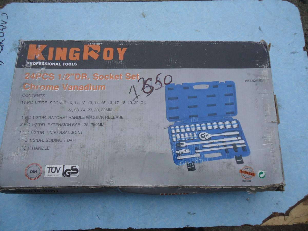 Фото - Набор инструмента King Roy 24 предмета