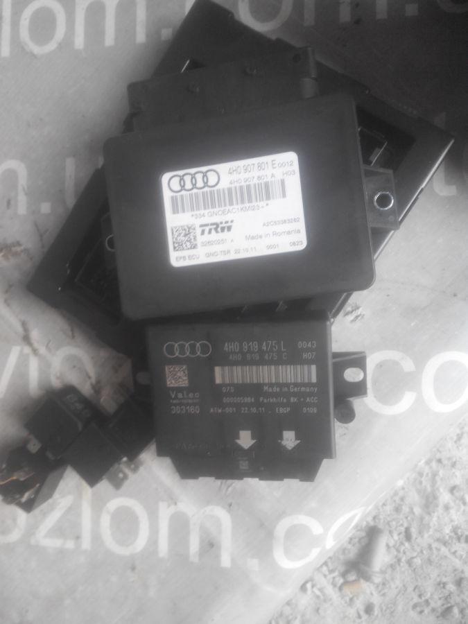 Фото - 4H0907801E Блок управления ручника Audi A6C7 4h0907601a