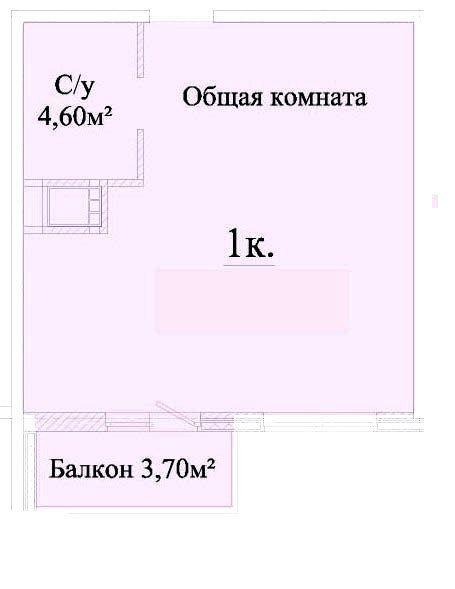 Фото 2 - 1 комнатная квартира ул. Головковская