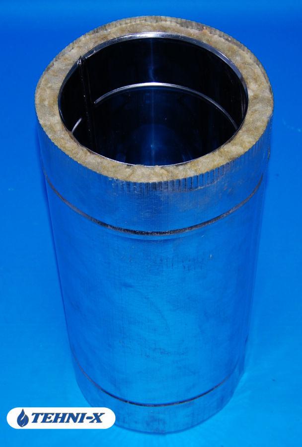 Фото 6 - Утепленный тройник из нержавейки толщиной 0,5 мм.