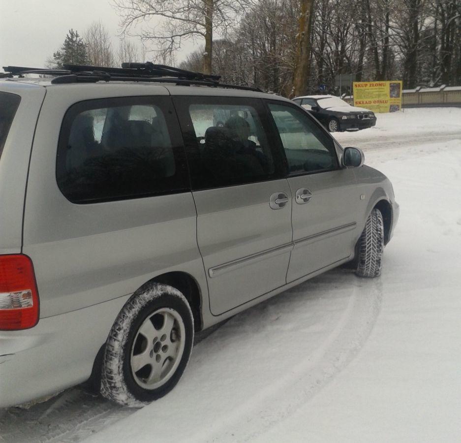 Фото - Стекло глухое в кузов Kia Carniva1 (Киа Карнавал) 1998-2006 год