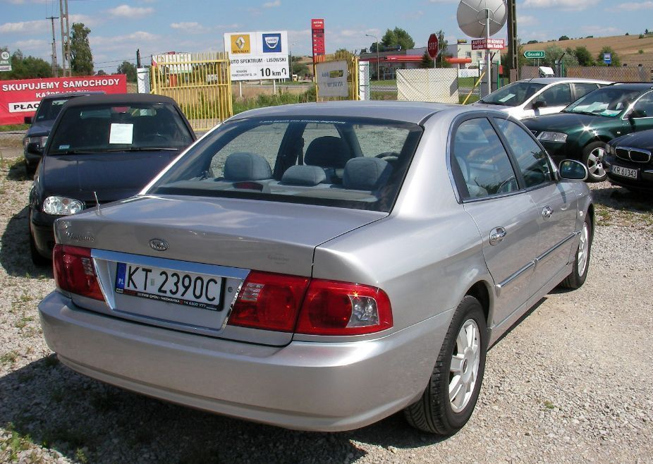 Фото - Kia Magentis (Киа Маджентис) Крышка багажника 2001-2005 год .