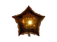 Фото 2 - Фольгированные шары звезды и черные шары