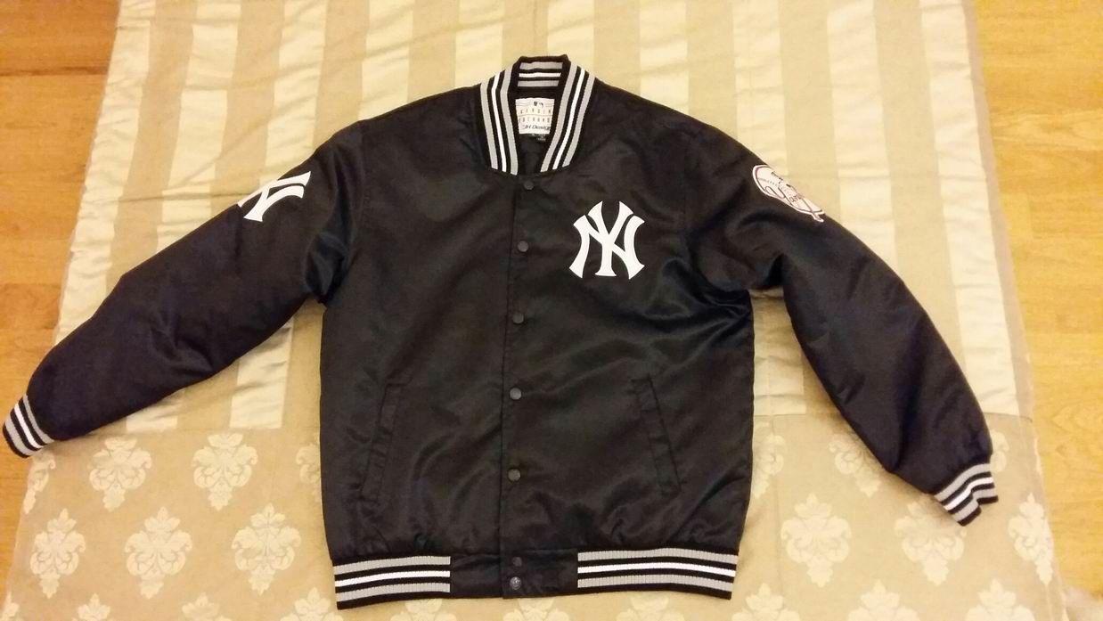 """Фото - Новая бейсбольная куртка """"New York Yankees"""""""