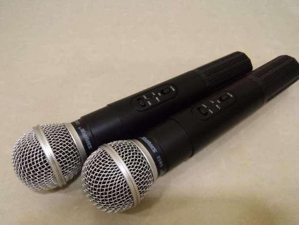 Фото 3 - Акустика 300ват с микрофонами Т-7064