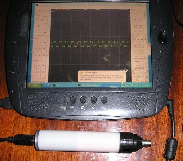 Фото 2 - USB осциллограф универсальный Oscill