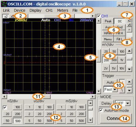 Фото 7 - USB осциллограф универсальный Oscill