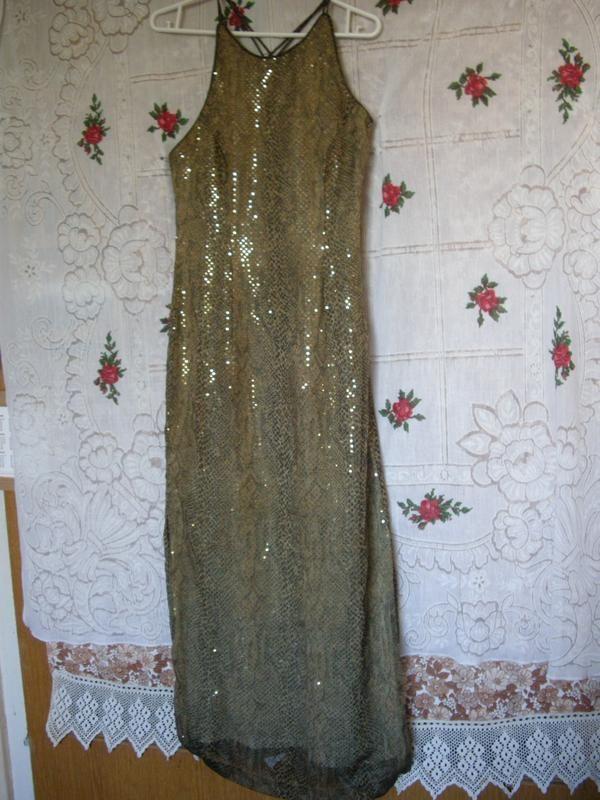 "Фото - Супер платье""morgan and co.by linda bernell""р.8-10"