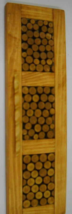Фото 8 - двери с форточкой, двери с интарсией ( инкрустация деревом по дереву)