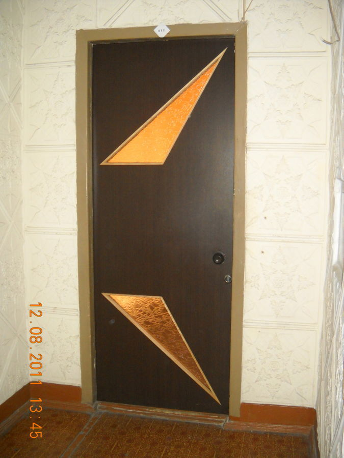 Фото 6 - двери с форточкой, двери с интарсией ( инкрустация деревом по дереву)