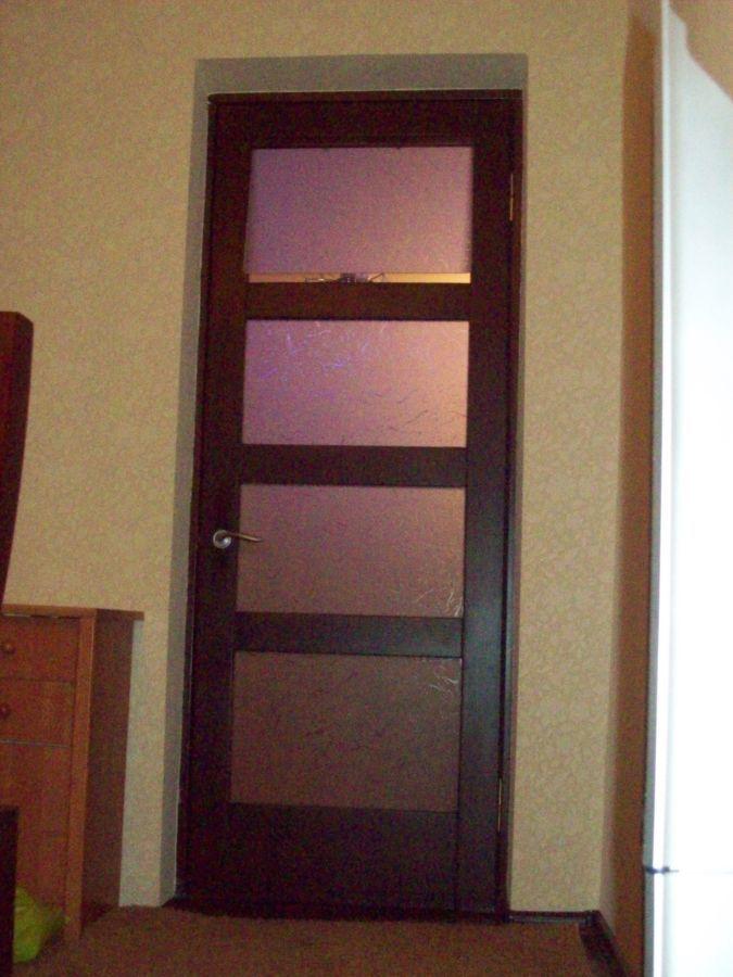 Фото 2 - двери с форточкой, двери с интарсией ( инкрустация деревом по дереву)