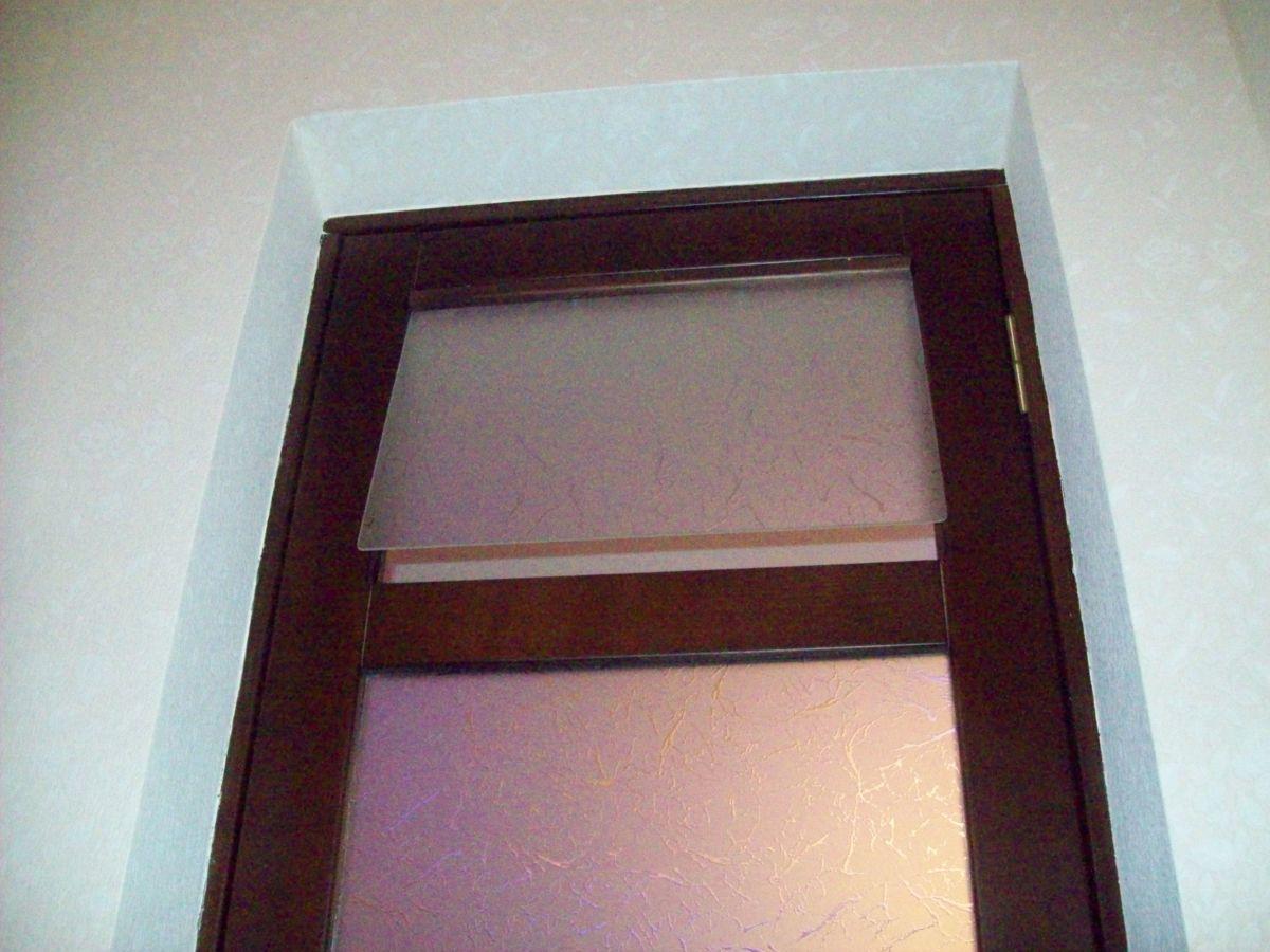 Фото - двери с форточкой, двери с интарсией ( инкрустация деревом по дереву)