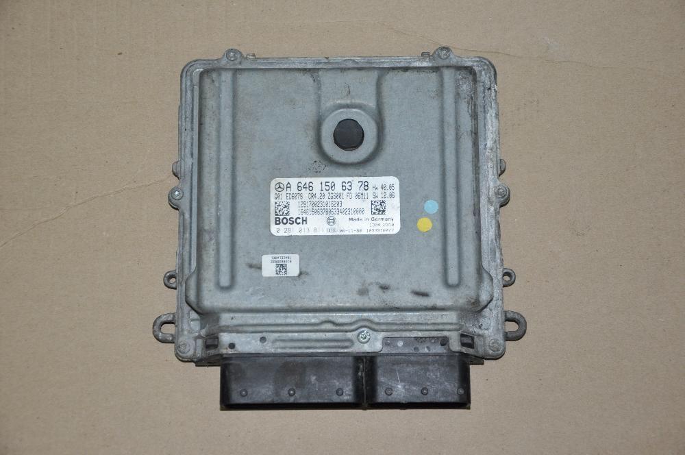 Фото - Блок управления двигателем ЭБУ ЕБУ  Mercedes Sprinter A 6461506378