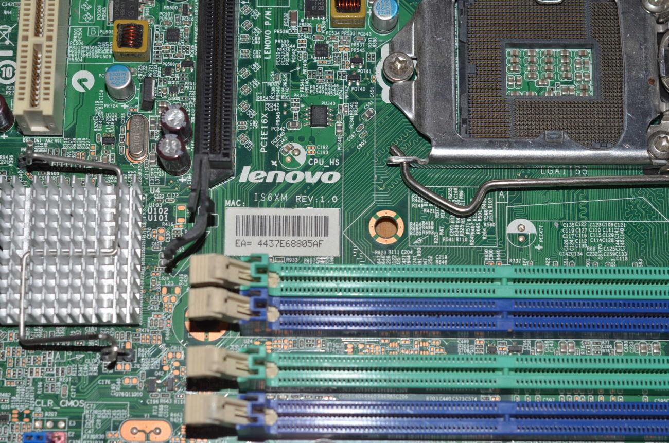 Фото 6 - Материнська плата S1155 Lenovo IS6XM ! МегаSALE!