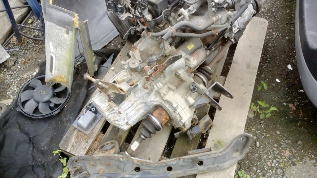 Фото 2 - Б/у Коробка передач КПП Hyundai Matrix