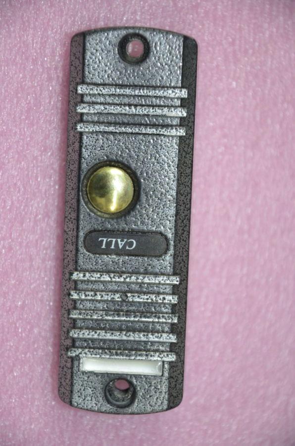 Фото 2 - Вызывная панель домофона черно-белая