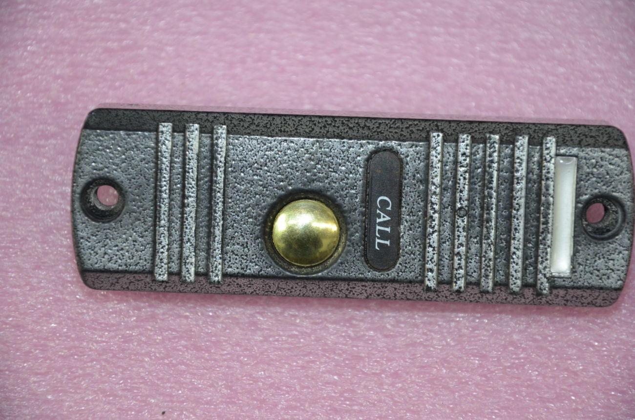 Фото - Вызывная панель домофона черно-белая