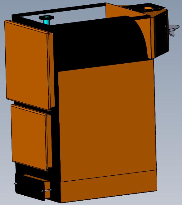 Фото 6 - Твердотопливный котел с ручной загрузкой топлива