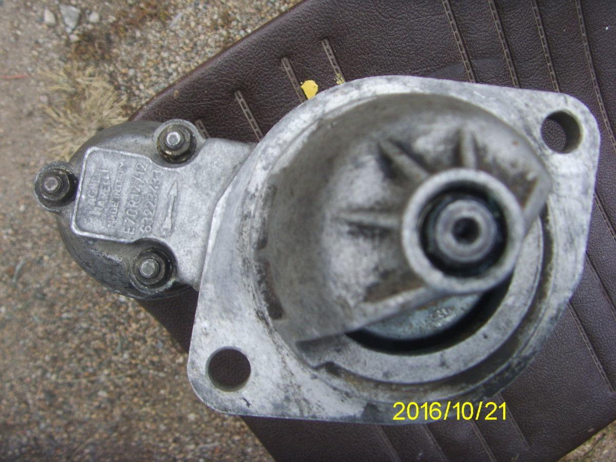 Фото 4 - На BMW 3, 5 (М20) 6-ти циллин. Стартер редукторный.