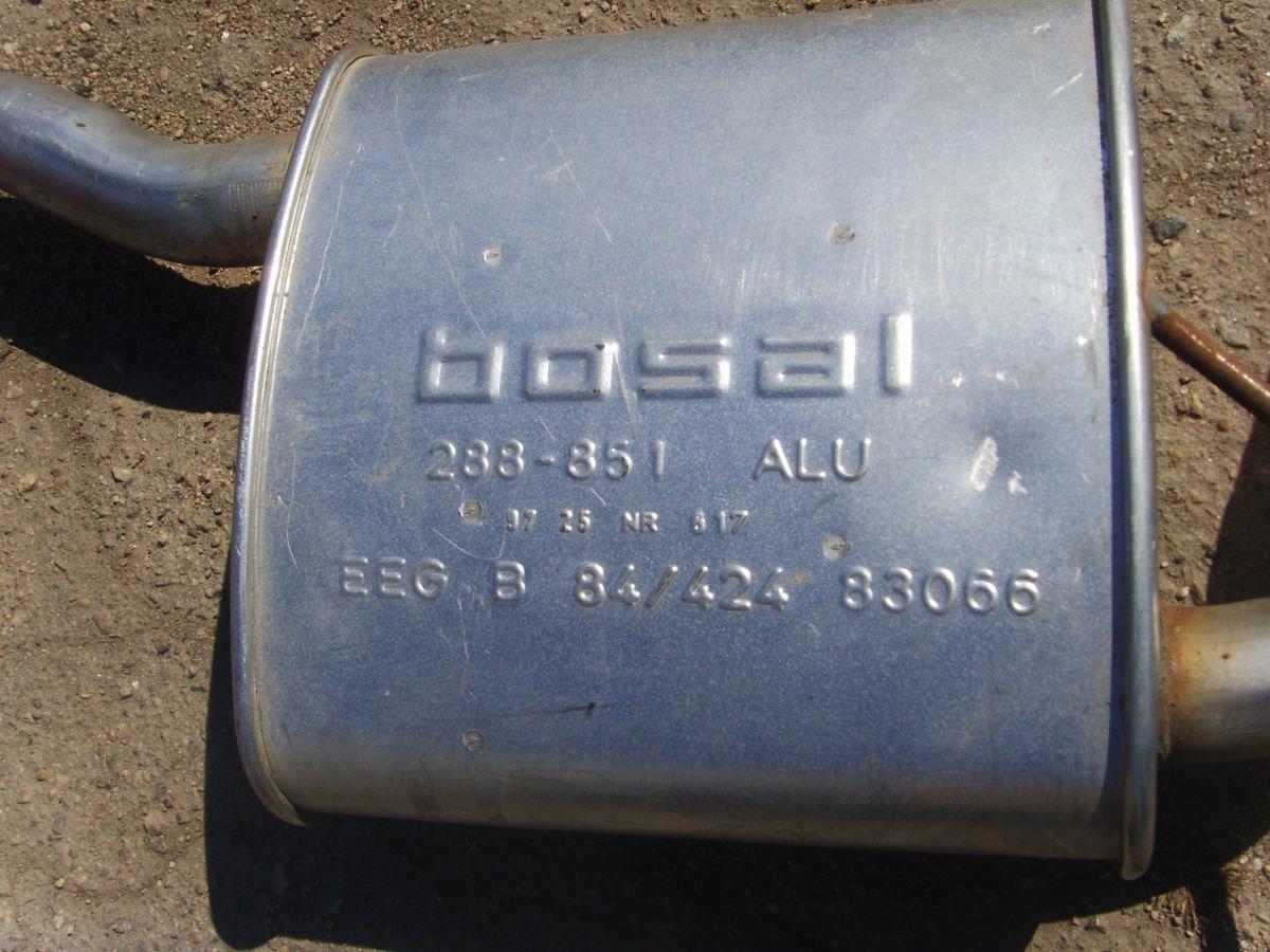 Фото 2 - На Ford Sierra 1,6 – 2,0 (OHC) средняя часть глушителя.