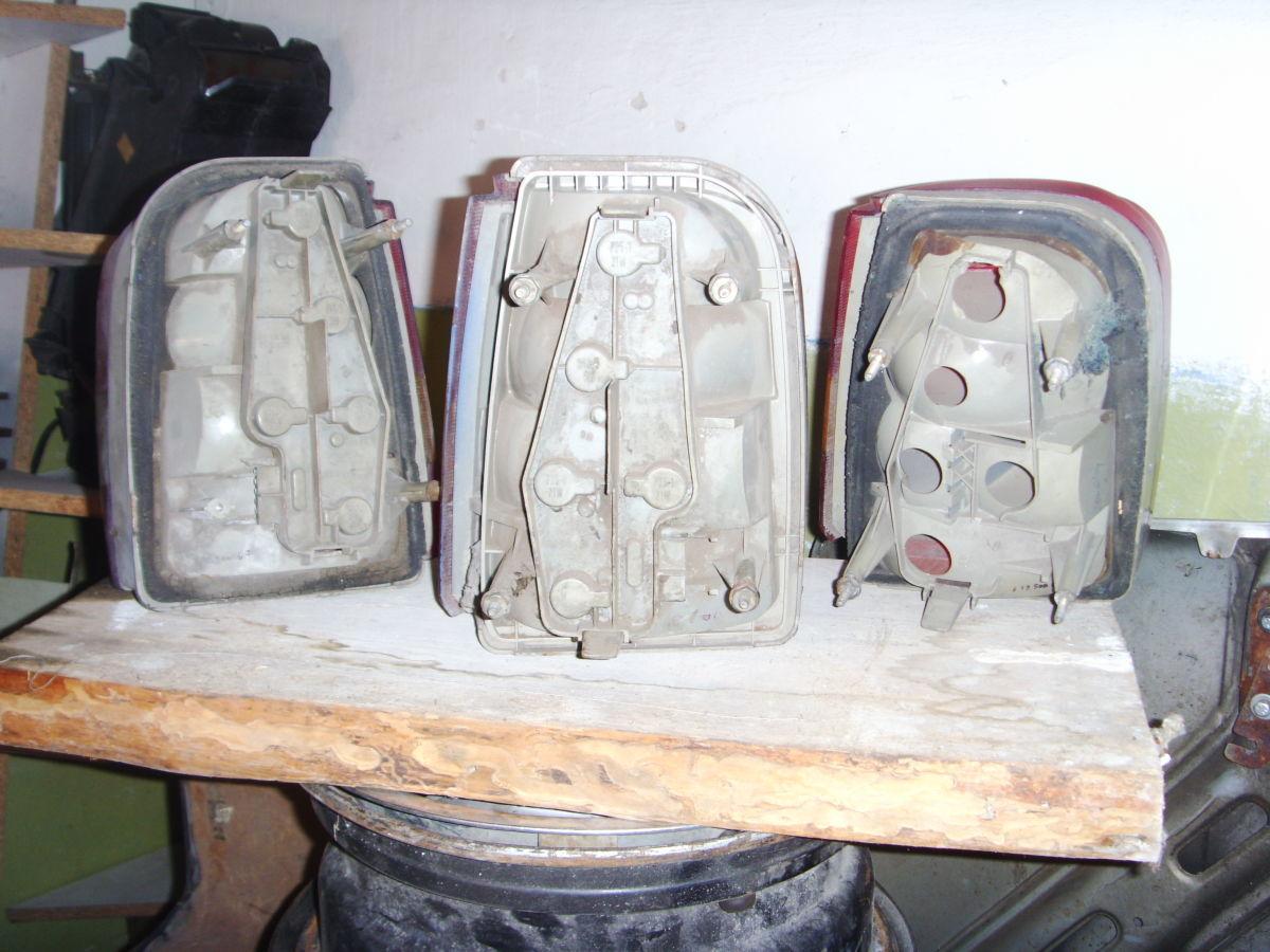 Фото 2 - На FORD SIERRA универсал задние фонари оригинальные.