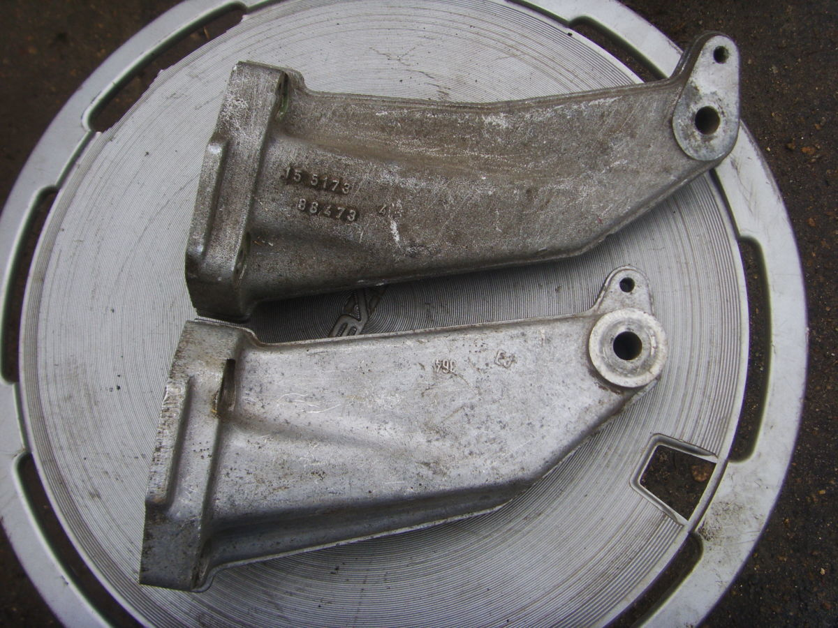 Фото 2 - На Ford Sierra, Scorpio дизель – бензин лапы опирания двигателя.