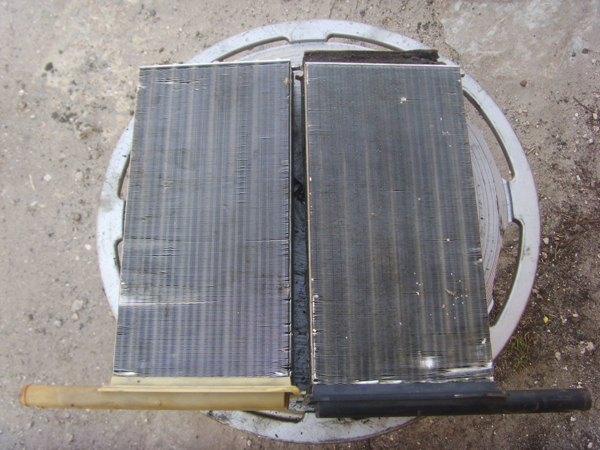 Фото - На Ford Sierra, Scorpio до 94 г.в. радиаторы обогревателя (печки).