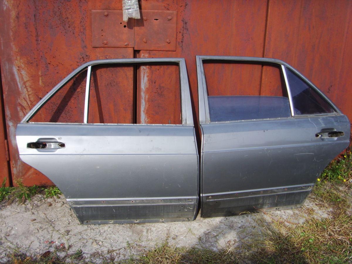 Фото - На MERCEDES 126 задние двери в сборе со стёклами..