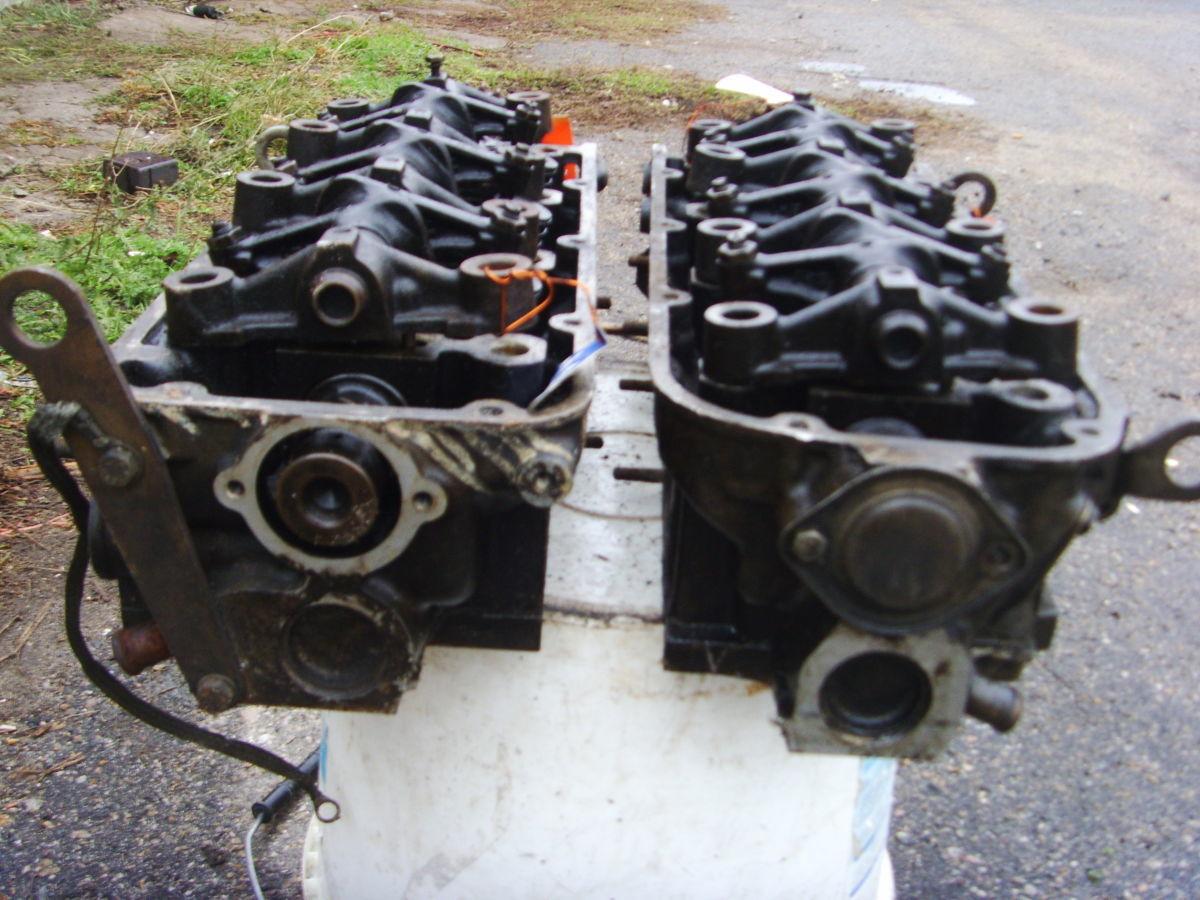Фото 4 - На RENAULT 25, VOLVO 264 B27i V6 головки блока правая и левая.