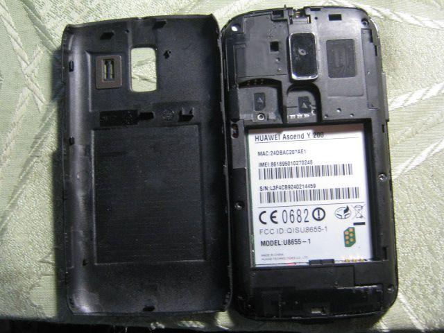 Фото - Продам смартфон Huawei U8655-1 Y200 Black