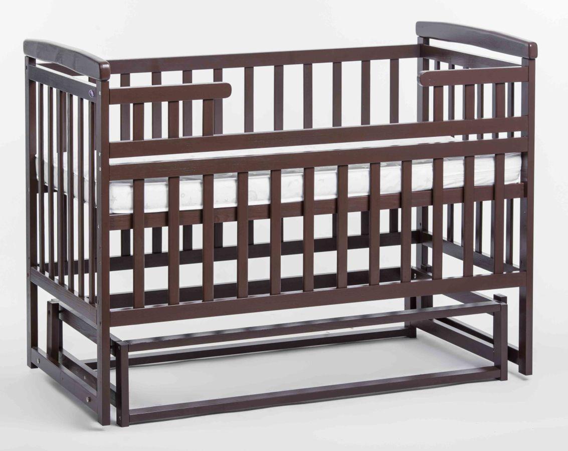Фото 3 - Акция! Комплект Элит . Комод+ кроватка маятник+ матрас+постель