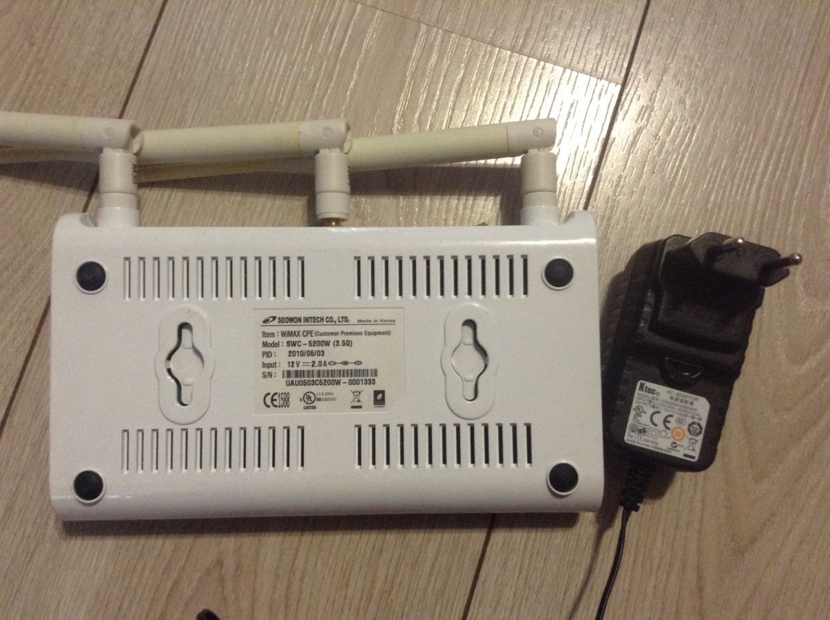 Фото 2 - Продам WiFi роутер SEOWON SWC-5200W фрештел