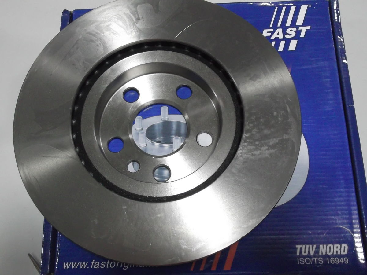Фото 6 - Тормозной диск передний вентилируемый Scudo,Expert,Jampy 95-