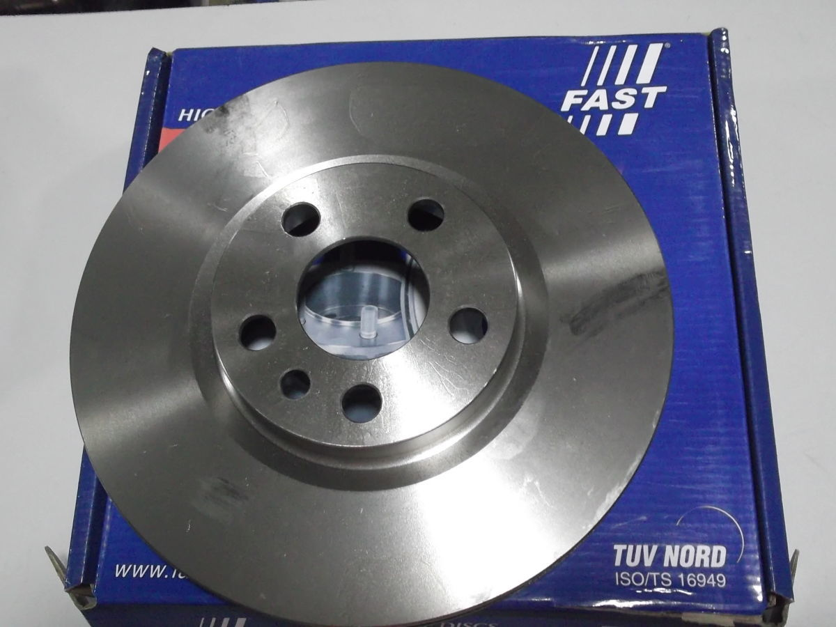 Фото 4 - Тормозной диск передний вентилируемый Scudo,Expert,Jampy 95-