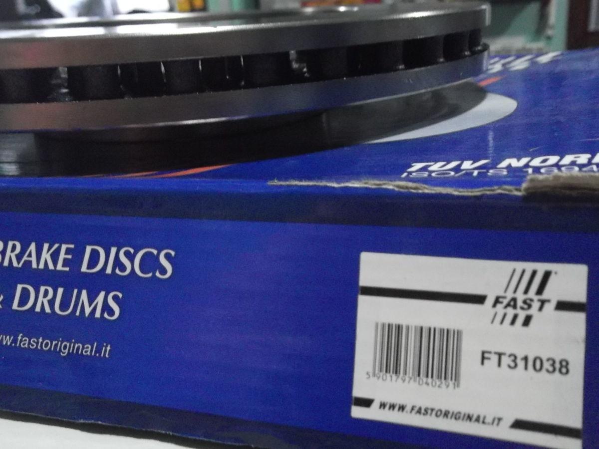 Фото 8 - Тормозной диск передний вентилируемый Scudo,Expert,Jampy 95-