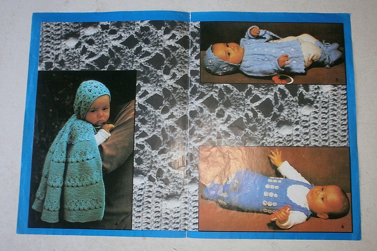 Фото 3 - Буклет вязание для малышей, со схемами